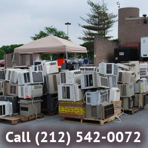 Window Air Conditioner Disposal New York 212 542 0072